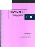 Survival Kit - Meditations and Excercises for Stress and Pressure of the Times