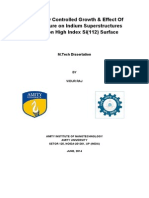 Auger Study of Indium Over High Index Si(112)