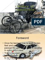 The History of the Automobile