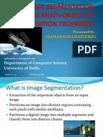 Sar Image Segmentation Using Multi-objective Optimisation Technique
