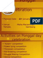 Ponggal Celebrations