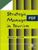 Strategic Management in Tourism