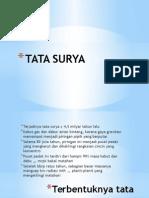 2. Tata Surya