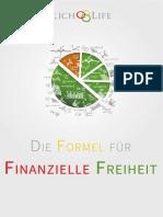 eBook - Die Formel Fu-r Das Erreichen Deiner Finanziellen Freiheit