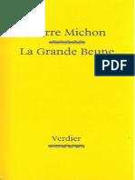 La Grande Beune Michon Pierre
