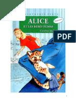 Caroline Quine Alice Roy 86 BV Alice et les bébés pumas 1998.doc