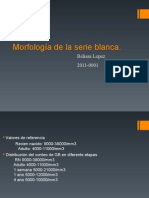 Morfologia de La Serie Blanca