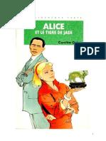 Caroline Quine Alice Roy 80 BV Alice et le tigre de jade 1995.doc