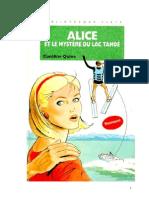Caroline Quine Alice Roy 79 BV Alice et le mystère du lac Tahoé 1994.doc