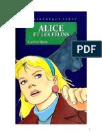 Caroline Quine Alice Roy 77 BV Alice et les félins  1993.doc
