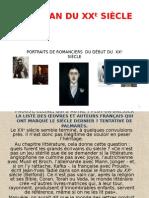 Le Roman Français Du XXe Siècle
