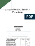 Bahasa Melayu Tahun 4- Penulisan