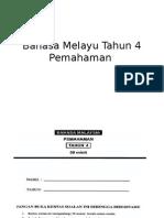 Bahasa Melayu Tahun 4- PEMAHAMAN