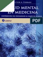 Salud Mental en Medicina Contribucion Del Psicoanalisis Al Campo de La Salud