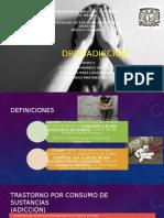 Drogadiccion tipos y etiologias