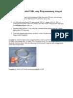 Cara Membuat Kabel USB