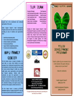 Youth Development Brochure