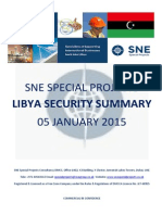 SNE Libya Security Summary 05 January 2015