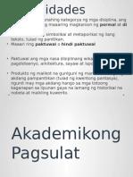 Akademikong Pagsulat