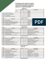 Plan Curricular Informatica