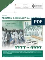PEDAG08 Normas Libertad y Autonomía