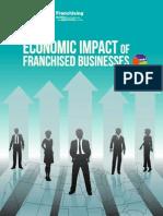 Economic Impact of franchising