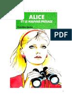 Caroline Quine Alice Roy 66 BV Alice et le mauvais présage 1982.doc