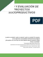Diseño Y Evaluación de Proyectos Socioproductivos