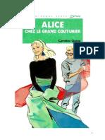 Caroline Quine Alice Roy 60 BV Alice chez le grand couturier 1981.doc