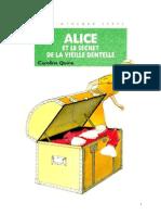 Caroline Quine Alice Roy 57 BV Alice et le secret de la vieille dentelle 1980.doc