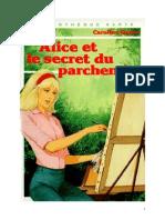 Caroline Quine Alice Roy 55 BV Alice et le secret du parchemin 1977.doc