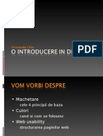 O Introducere in Design