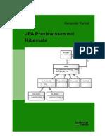 """""""JPA Praxiswissen mit Hibernate"""" Inhaltsverzeichnis"""