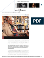 Sergio Pitol, El Defensor Del Lenguaje _ Excélsior