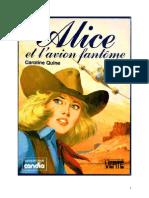 Caroline Quine Alice Roy 54 BV Alice et l'avion fantome 1976.doc