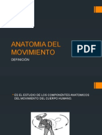 Anatomia Del Movimiento Power Point
