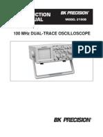 Manual Osciloscopio 2190B