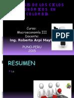 Ciclos Economicos Colombia