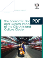Economic Social Cultural Impact of the City Arts and Culture Clusture