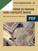 Michel Narcy Les Dieux Dans La République de Platon