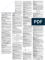 Material Science Cheatsheet for Midterm New