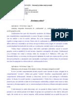 Pui Eugen Horatiu-Master-CPE an 1 Sem I 2009-PORTOFOLIU-Devianta Scolara