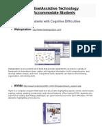 Adaptive Assistive Technology