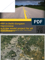 Case Study - PPP in Del-Gurgaon Expressway
