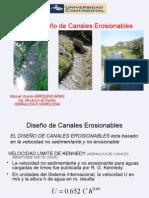 Diseño de Canales Erosionables