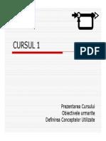 Bazele sistemelor de automatizare- curs 1