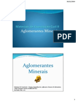 Aglomerantes Minerais