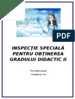 proiect inspectie