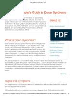 Down Syndrome - MoveForwardPT