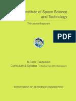 20131206Propulsion MTech Syllabus 2013-4